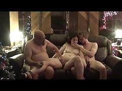 Tisha's Christmas Threesome
