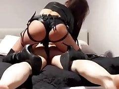 Evil Mistress Fucking a Slave's Ass